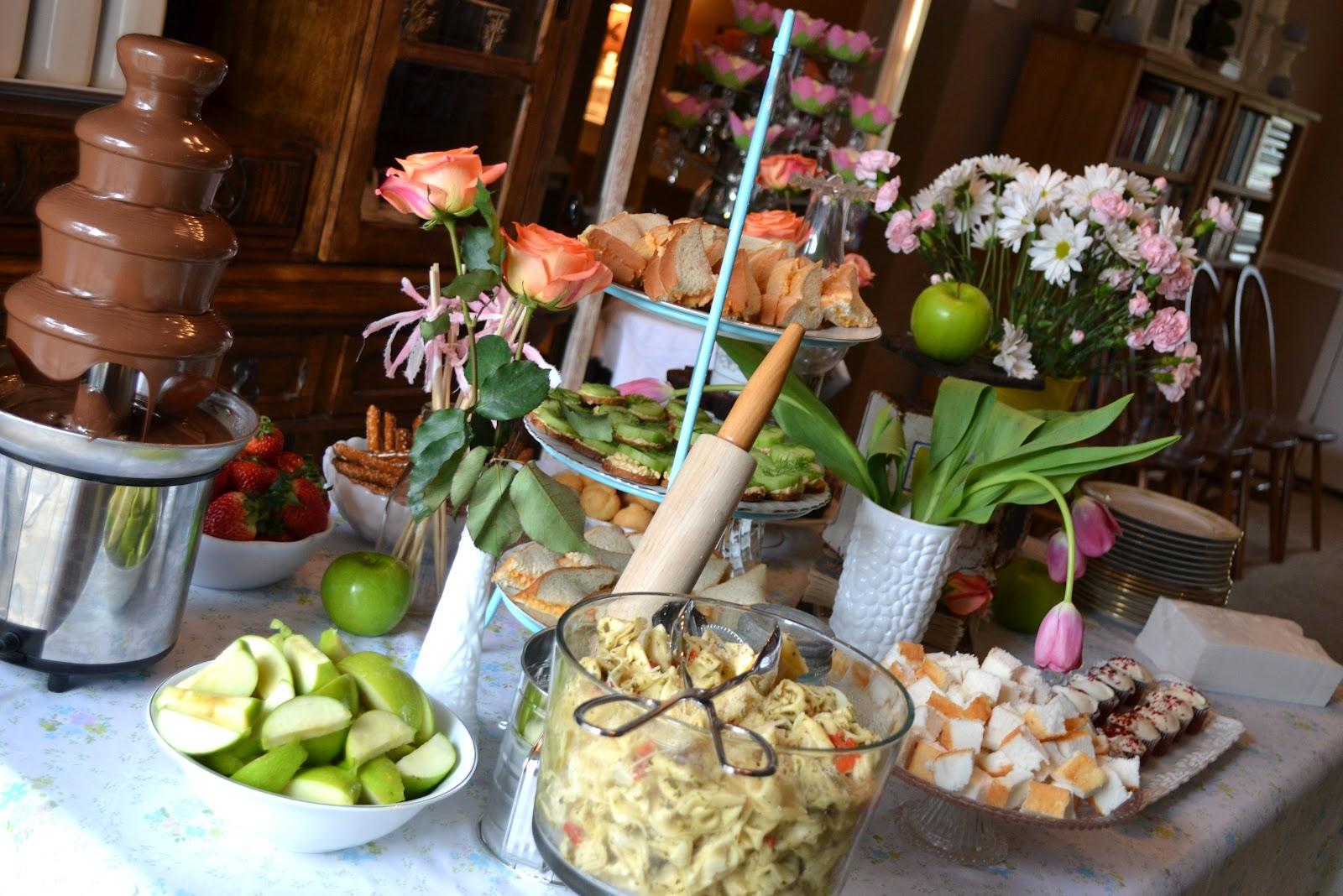 Kitchen Themed Bridal Shower Mason Jar Lights Julie Ann Events