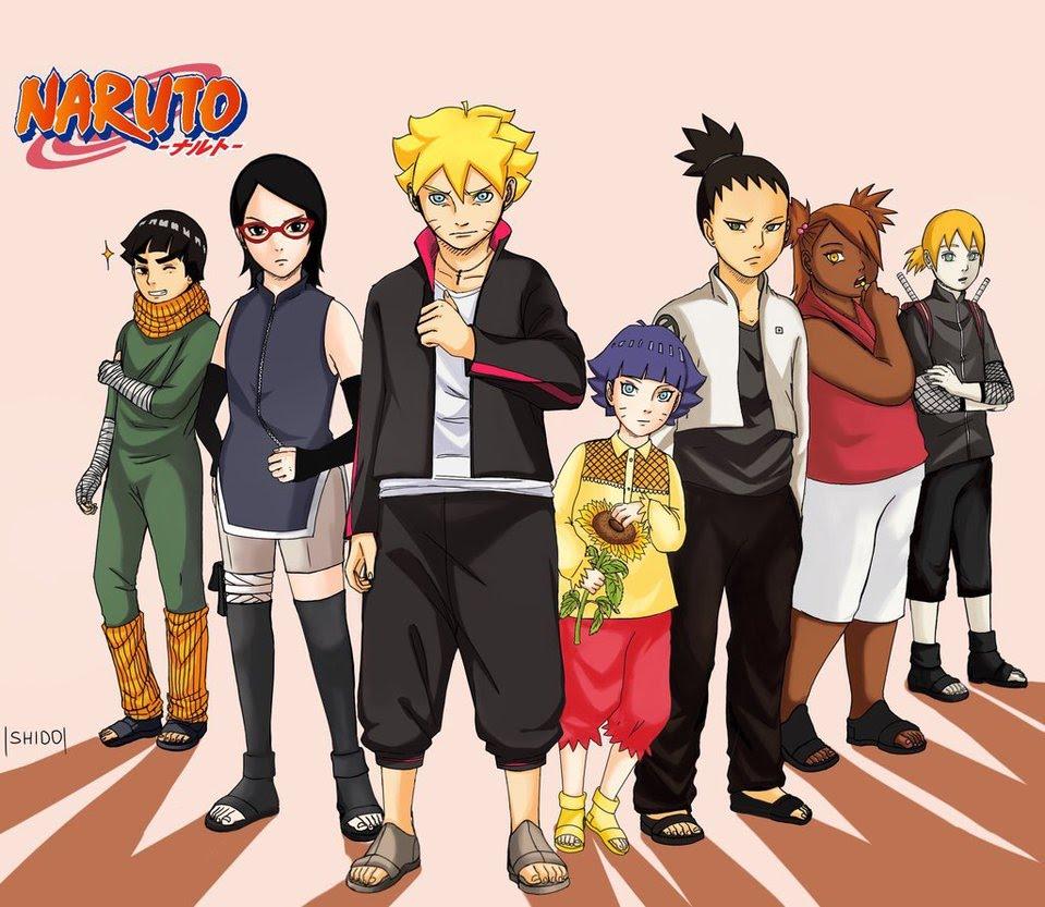 Daftar Tokoh Dan Karakter Manga Anime Naruto InfoAkuratcom
