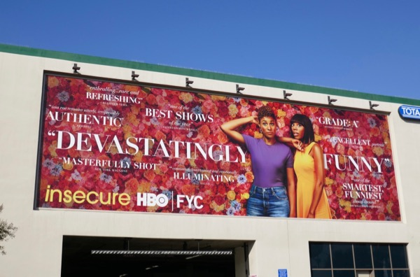 Insecure season 3 Devastatingly funny FYC billboard