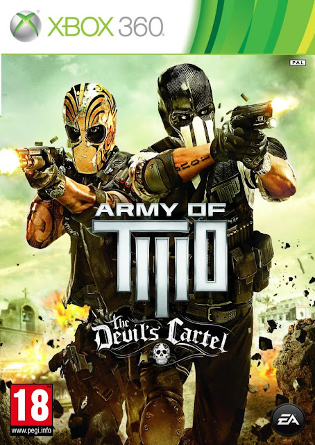 Army Of Two The Devils Cartel - Xbox 360 - Portada
