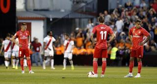 رايو فاليكانو يُحيي آماله في البقاء بالفوز على ريال مدريد