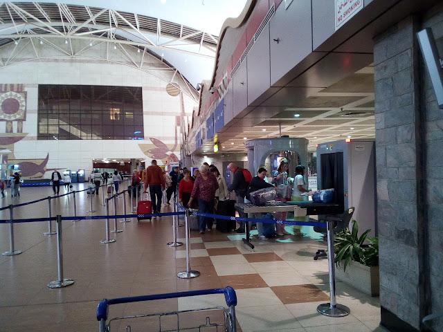в аэропорту Шарма
