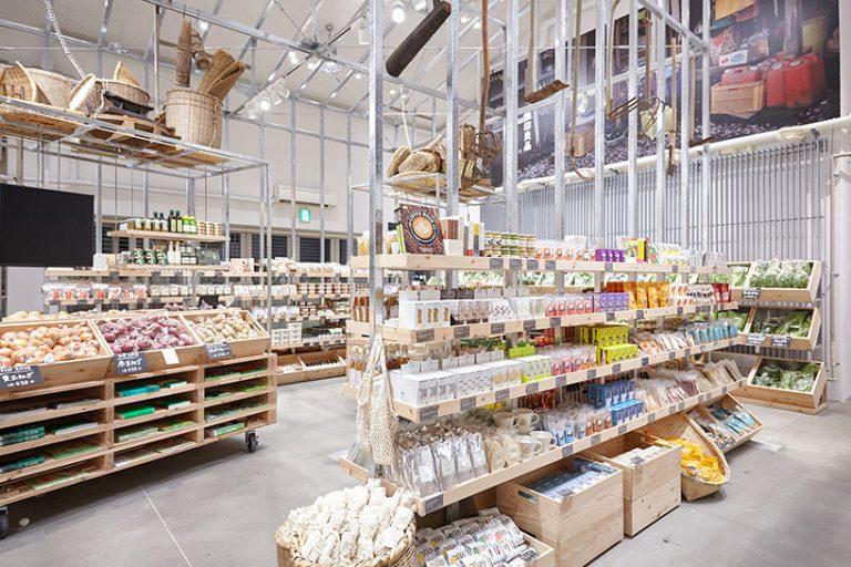 La Vida Interior Design And Decor ديكور محل خضروات وفواكة ياباني بساطة وجمال لافيدا للتصميم الداخلي واليدكور