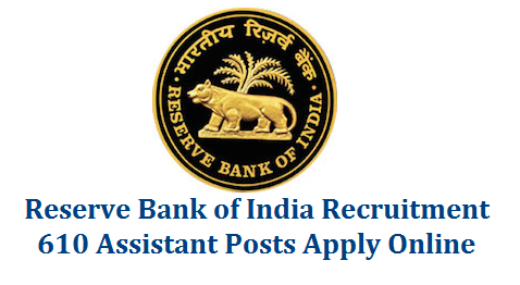 "RESERVE BANK OF INDIA RECRUITMENT FOR THE POST OF ASSISTANT rbi-reserve-bank-of-india-recruitment-notification-2016-610-assistant-posts The Reserve Bank of India invites applications from eligible candidates for 610 posts of ""Assistant"" in various offices of the Bank. Selection for the post will be through a country-wide competitive Examination in two phases i.e. Preliminary and Main examination followed by an Interview."