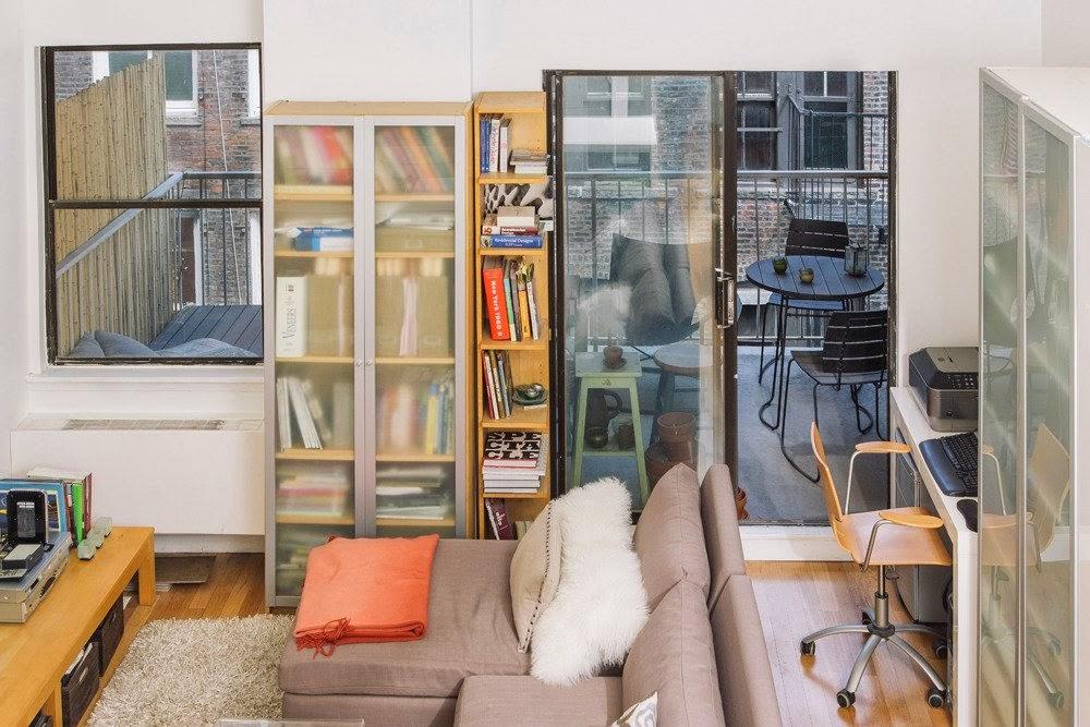 Antes e Depois reforma mini loft decorado. Blog Achados de Decoração