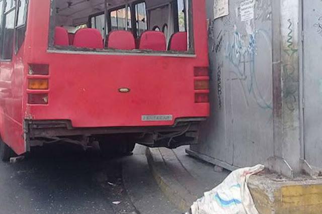 Niño de 10 años aplastado por un autobús en La Hoyada