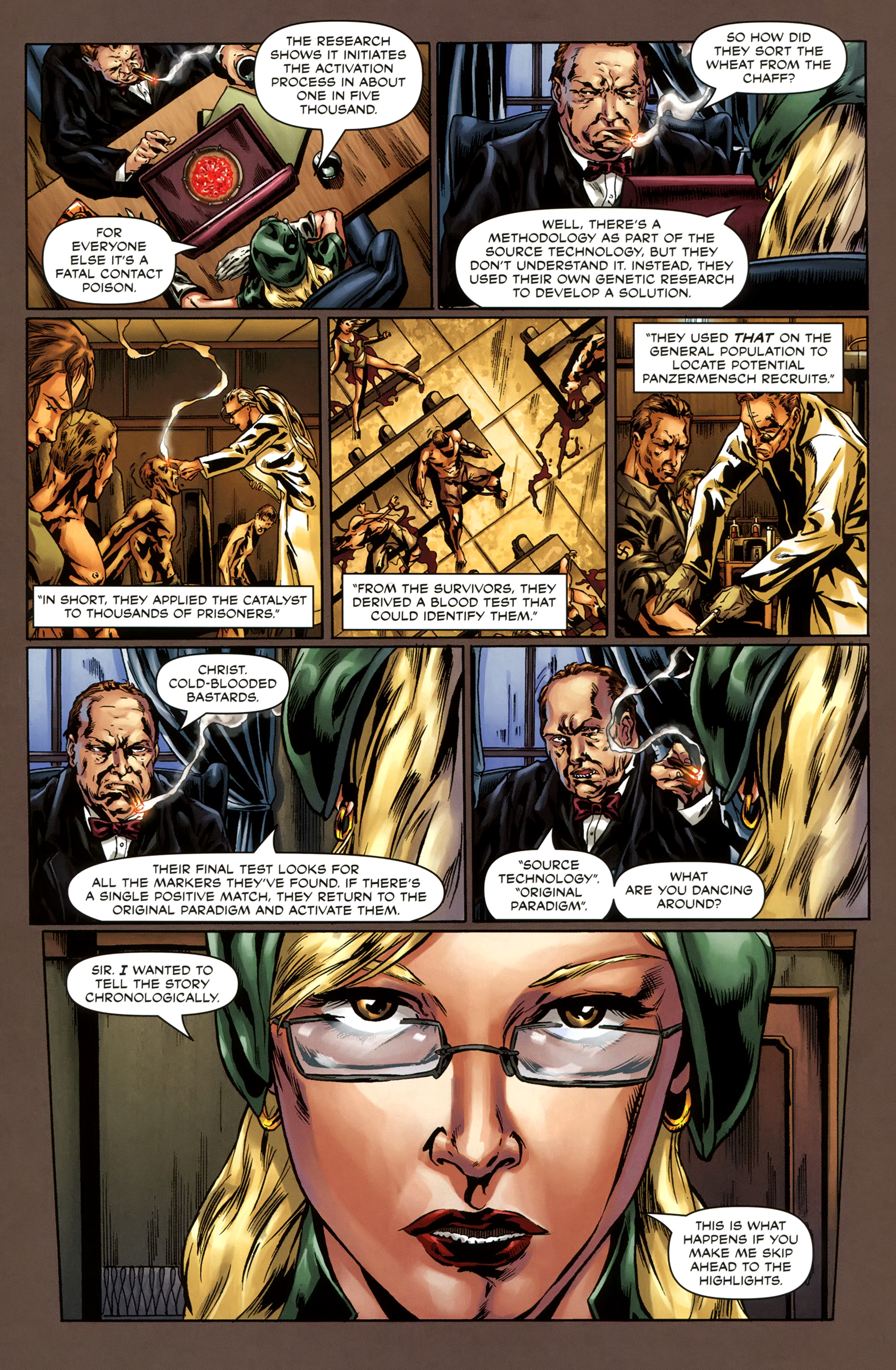 Read online Uber comic -  Issue #3 - 10