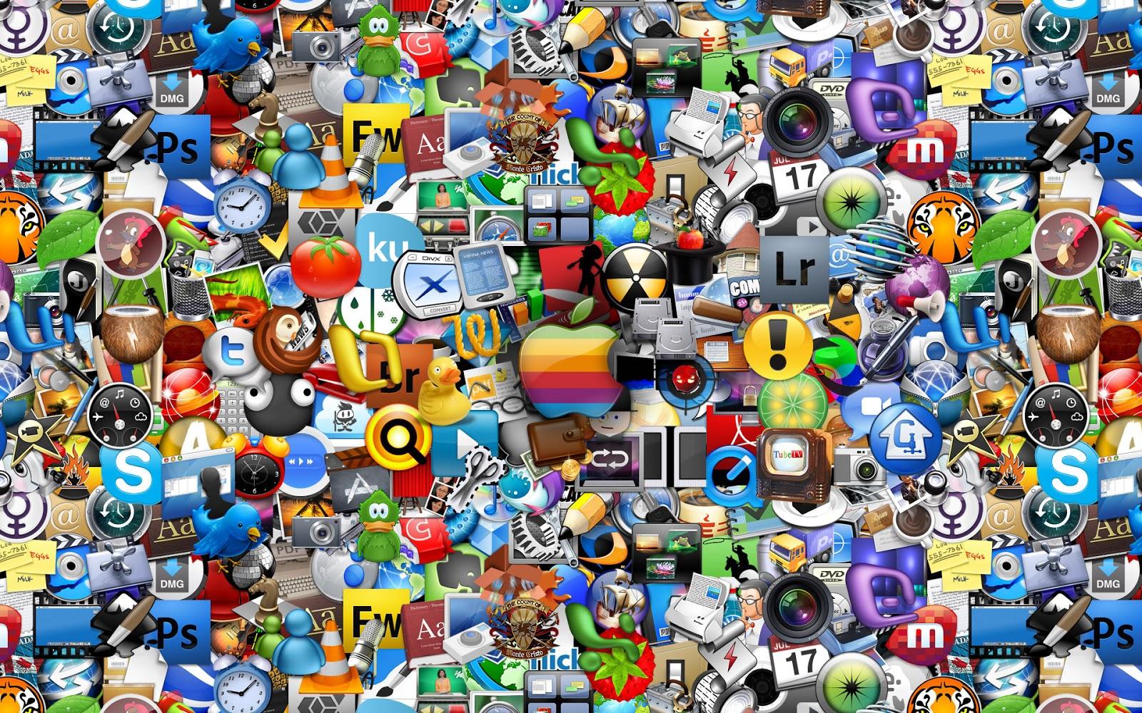 Fondos De Pantalla De Famosos: Imagenes Hilandy: Fondo De Pantalla Abstracto Icono Marcas