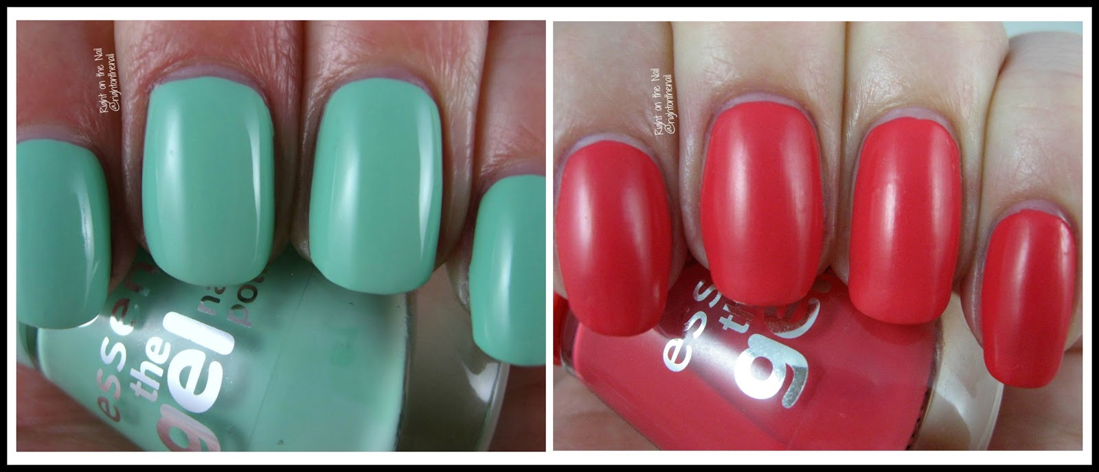 Right on the Nail: Essence\'s The Gel Nail Polish Swatches and ...