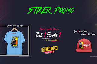 Download Stiker Promo Beli 1 Gratis 1