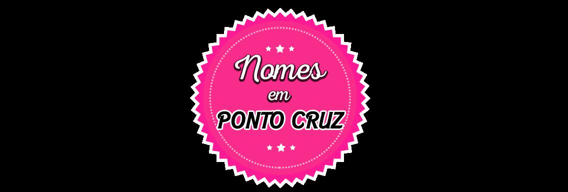 Nomes em Ponto Cruz