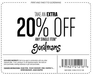 Gordmans offers a variety of seasonal items throughout the year. Popular name brands can often be found at these stores including Nike, Miss Me, Disney, and many others. Save even more at Gordmans when you use coupons.