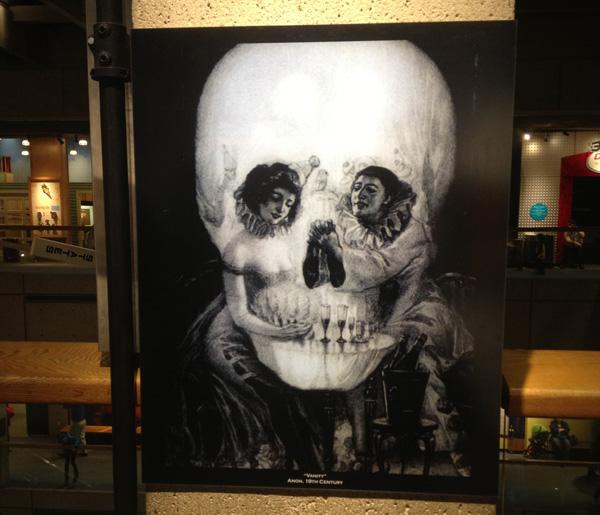 Giveaway: Dahlia Skull Print Scarf  & Skeleton Bracelet