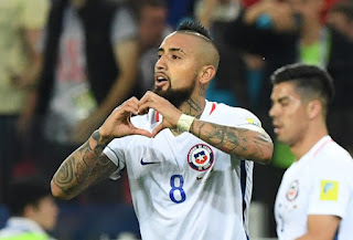 Highlight Kamerun vs Chile (0-2) Piala Konfederasi 2017