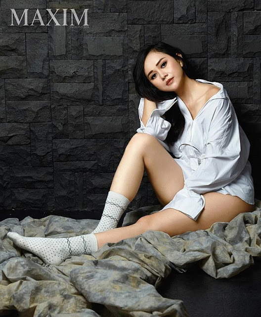 Foto Aura Kasih Maxim Magazine 1