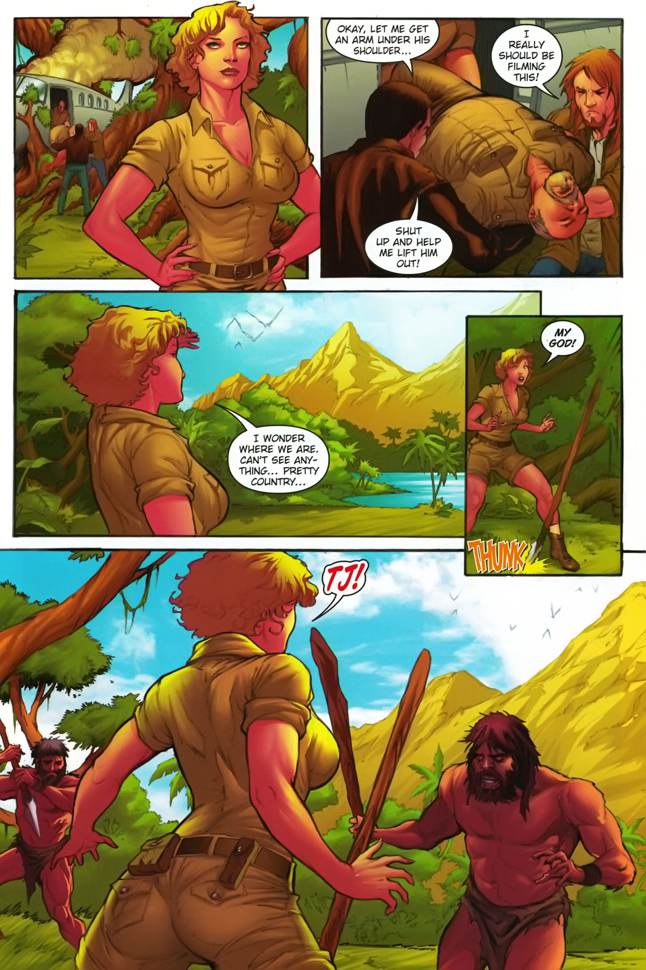 Read online Jungle Girl comic -  Issue #1 - 8