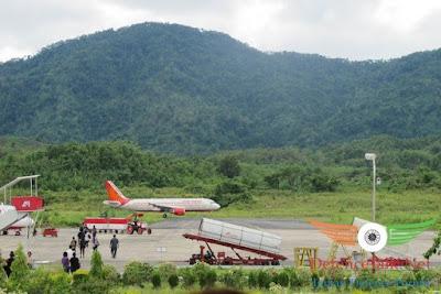 Airport in Itanagar city