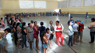 Mais de 700 beneficiários receberam abono natalino em Baraúna