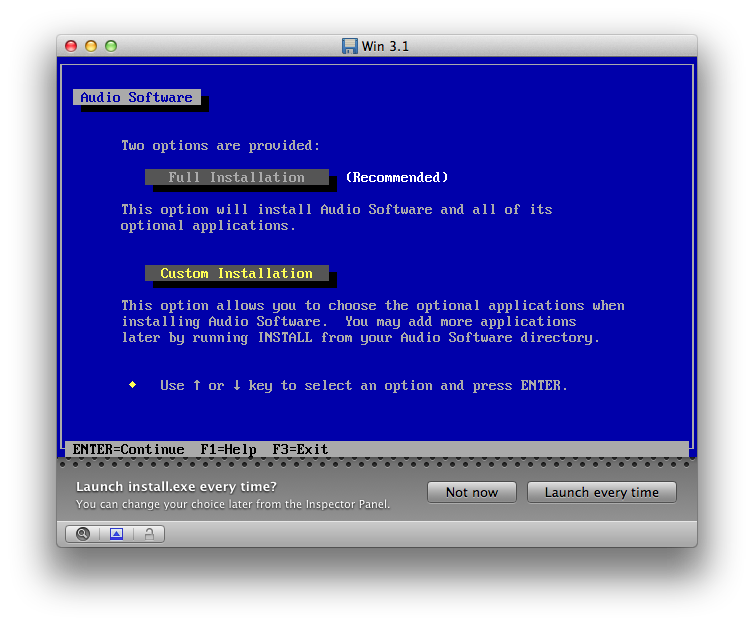 mac and i: Nostalgic Sunday - Installing Windows 3 1 in Boxer