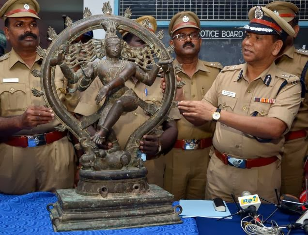 A feeble search for stolen idols