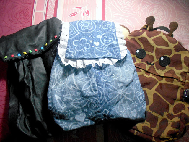 DIY Backpack Decoration - Back to School - Doodled Denim, Animal, Studed