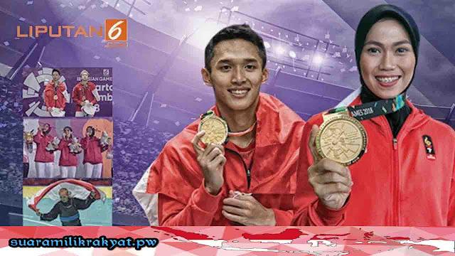 Bonus untuk Pahlawan Asian Games 2018