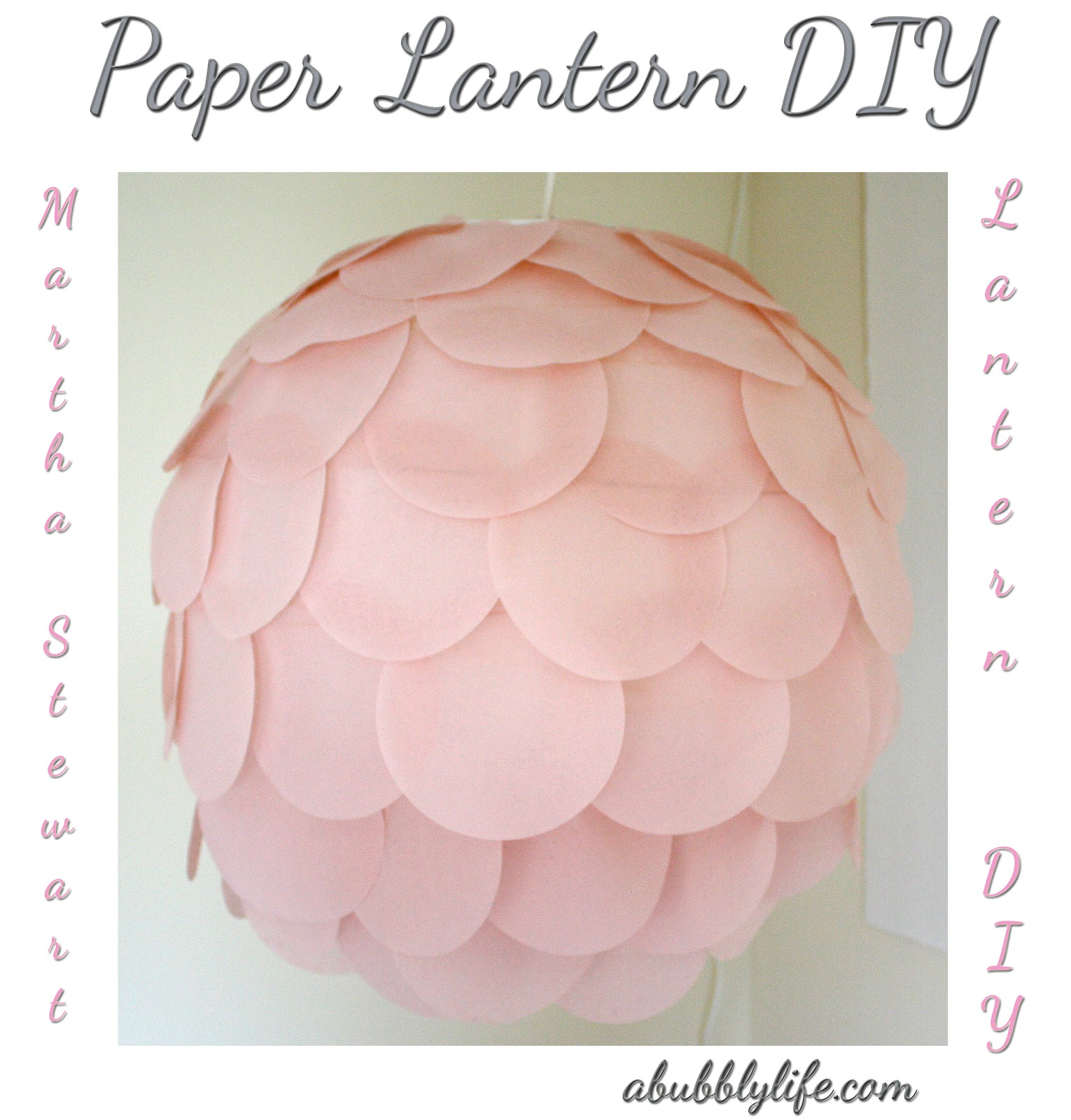 Bonafidebride diy project sweet whimsical paper lanterns - Http 2 Bp Blogspot Com Vauv4xpjrhs T7f Paper Lantern Diy