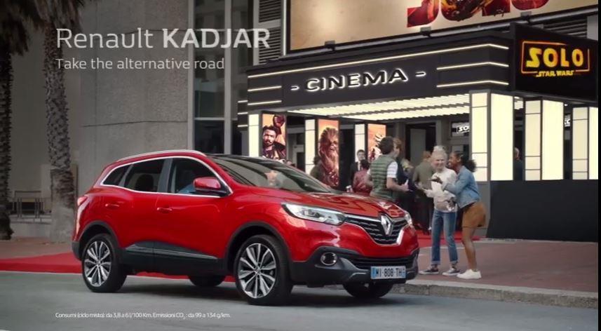 Canzone Renault Pubblicità Kadjar - star wars Chewbecca, Spot Maggio 2018
