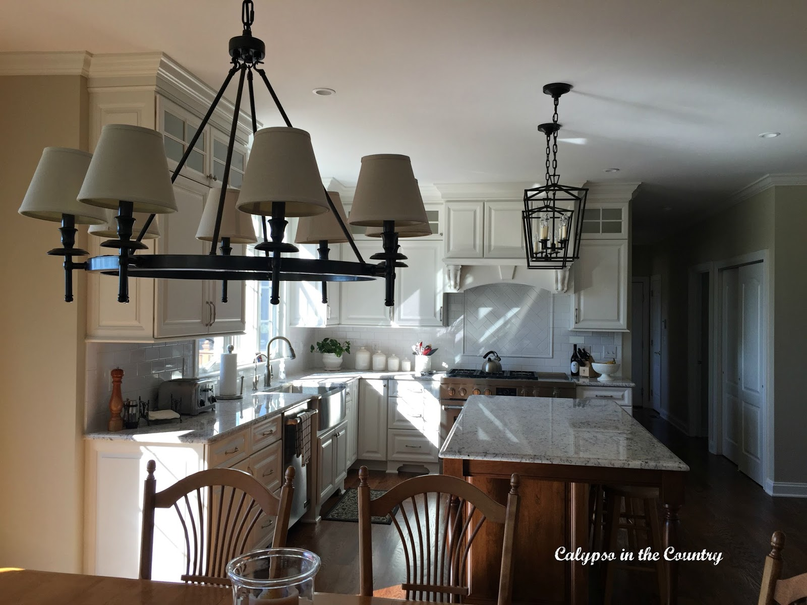Kitchen Lighting and full kitchen reveal