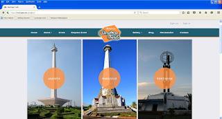 Website Indonesia Heritage Trails