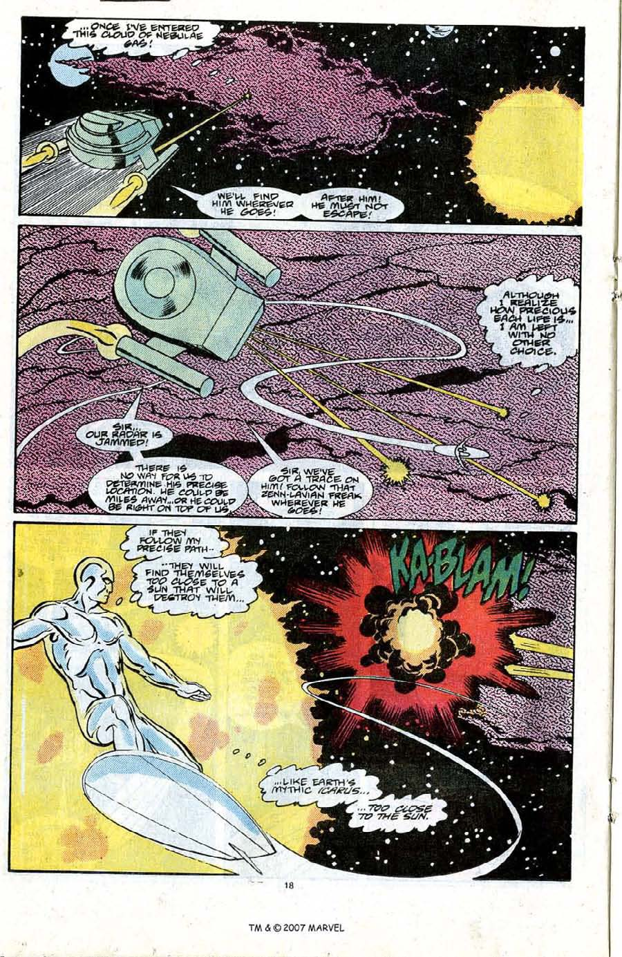 Read online Silver Surfer (1987) comic -  Issue #21 - 20