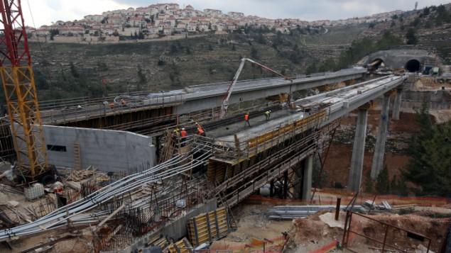 Tren expreso entre Tel Aviv y Jerusalém
