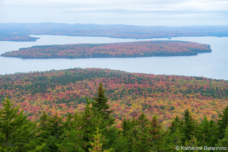 Mount Kineo Summit View Maine Hiking Moosehead Pinnacle Pursuit