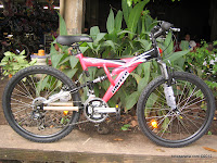 24 Inch United High Sierra Full Suspension Mountain Bike - Export Quality