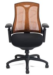 Layover Chair in Pumpkin Mesh