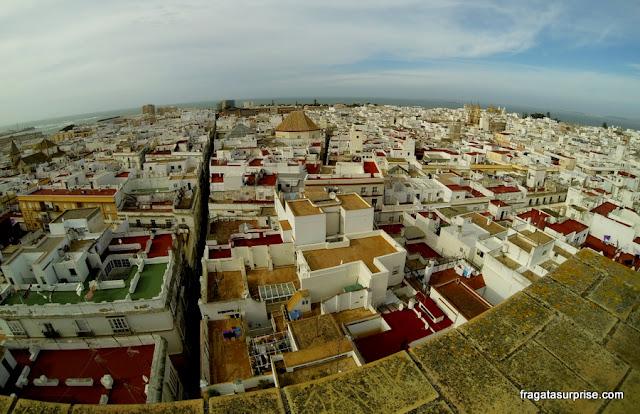 Cádiz, Andaluzia, Espanha - Torre de Tavira