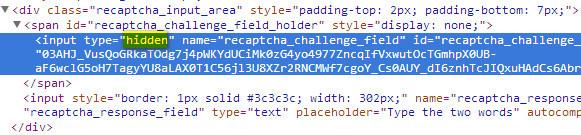 Seleniumworks: Handling Captcha   Webdriver