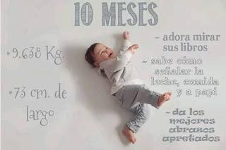 desarrollo del bebe - 10 meses