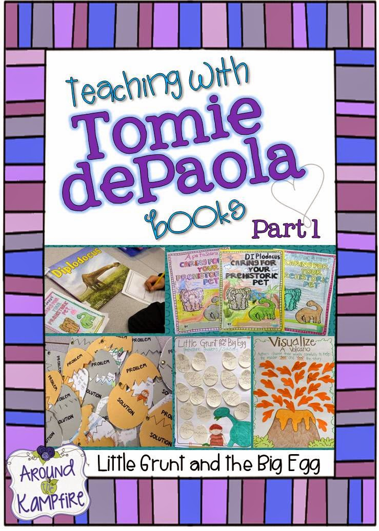 Teaching with Tomie dePaola books Part 1: Little Grunt and the Big Egg
