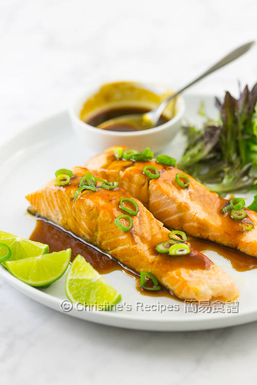 Salmon Fillets in Lemongrass Ginger Soy Sauce01