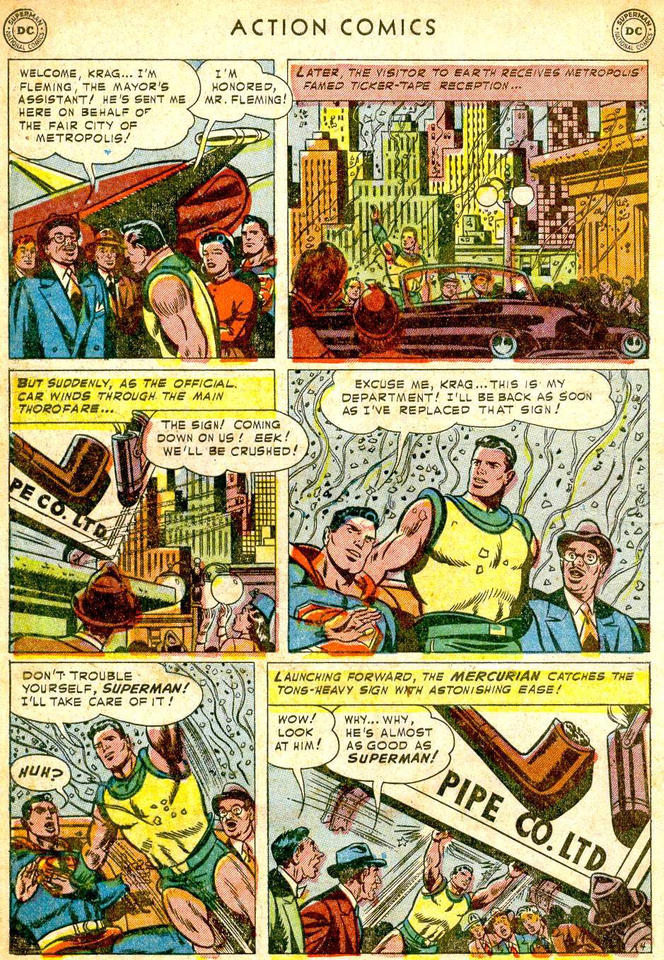 Read online Action Comics (1938) comic -  Issue #165 - 6