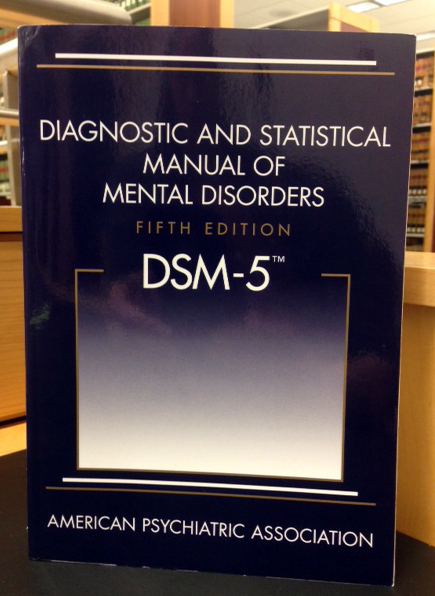 Dsm-5 manual diagnostico y estadistico de los trastornos mentales.