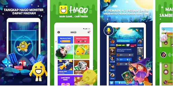 Hago : Cara Mendapatkan Pulsa Gratis Terbaru dari Aplikasi Hago Android