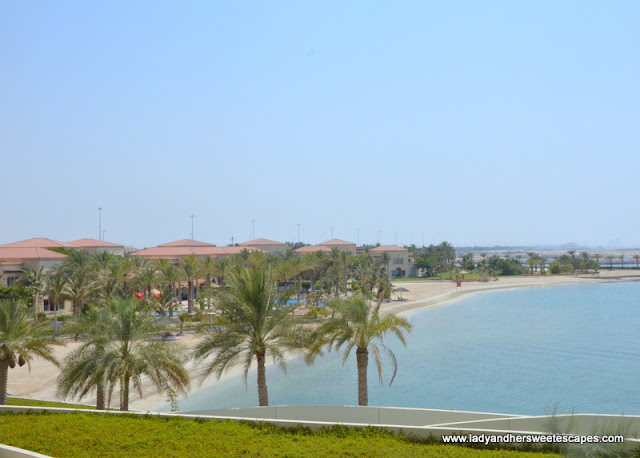 Al Raha Beach Hotel room view