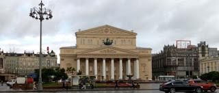 Teatro Bolshoi de Moscú.