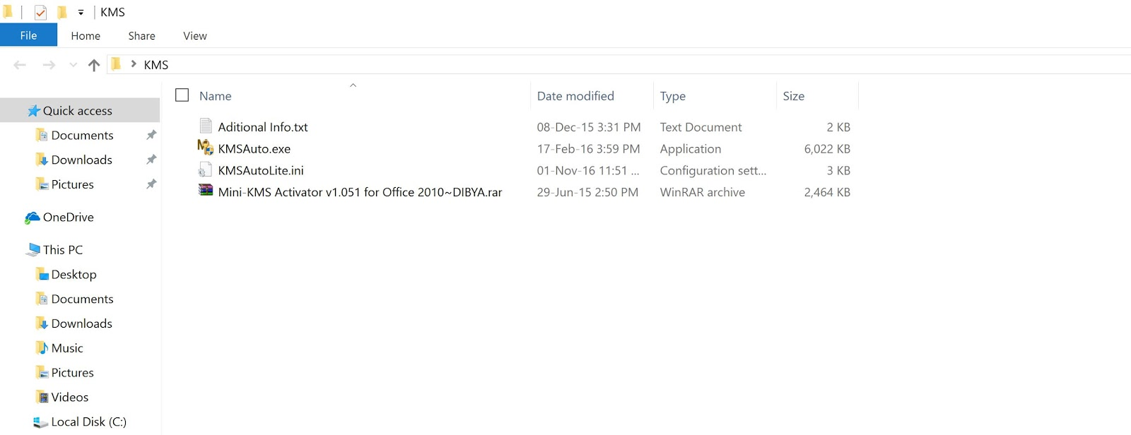 crack file for office 2016