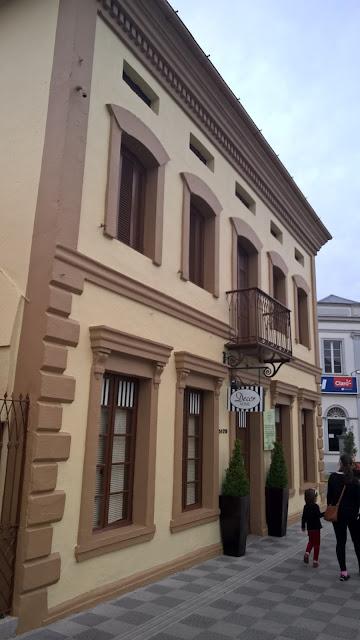 Edifícios históricos do centro da cidade