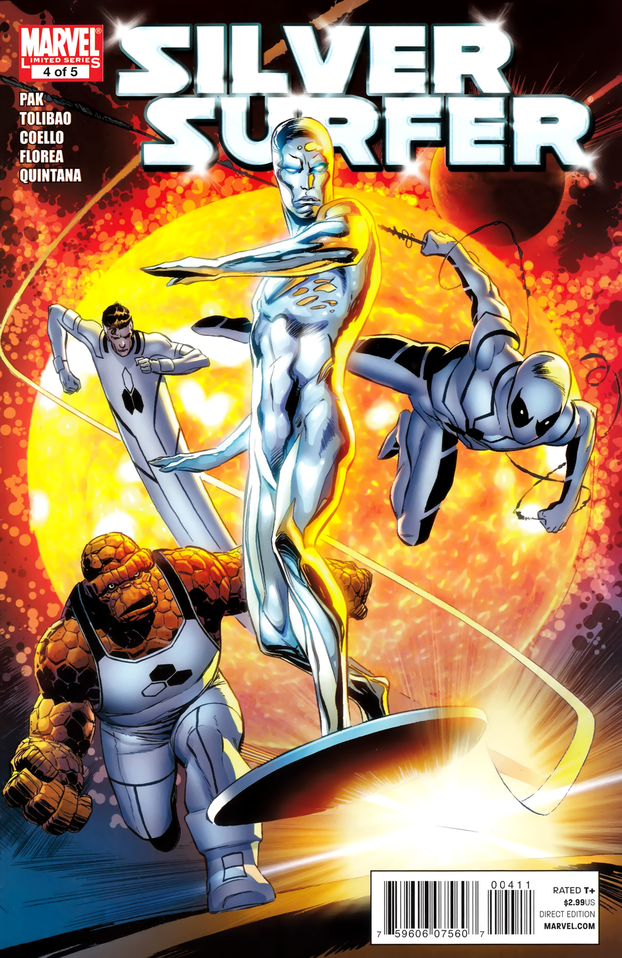 Read online Silver Surfer (2011) comic -  Issue #4 - 1