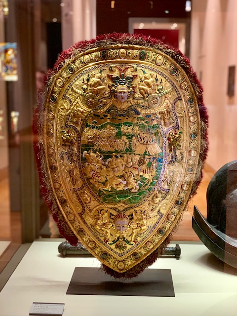 the Louvre Benvenuto Shield