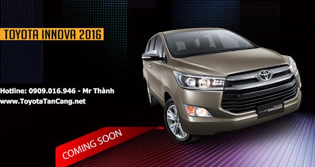 Toyota Innova 2016 phiên bản hoàn toàn mới sẽ sớm được ra mắt tại Việt Nam